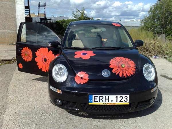 Automobilių apklijavimas VW Beatle