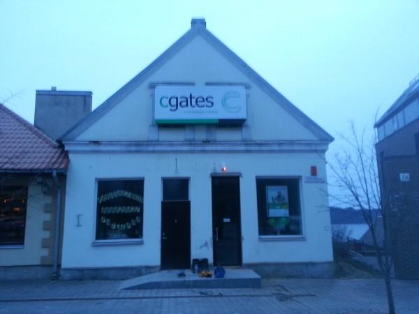 Šviesdežių gamyba. C-gates Moletai
