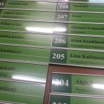 Kabineto lenteles is Cosign aliuminio profilio
